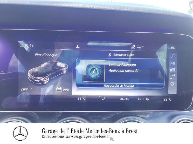 Photo 20 de l'offre de MERCEDES-BENZ Classe E 300 de 194+122ch AMG Line 9G-Tronic Euro6d-T-EVAP-ISC à 53990€ chez Garage de l'Étoile - Mercedes-Benz Brest