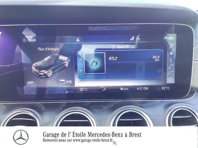 Photo 19 de l'offre de MERCEDES-BENZ Classe E 300 de 194+122ch AMG Line 9G-Tronic Euro6d-T-EVAP-ISC à 53990€ chez Garage de l'Étoile - Mercedes-Benz Brest