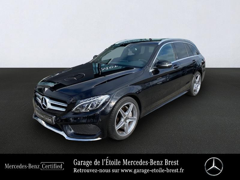 Photo 1 de l'offre de MERCEDES-BENZ Classe C Break 180 d Sportline 7G-Tronic Plus à 27400€ chez Garage de l'Étoile - Mercedes-Benz Brest