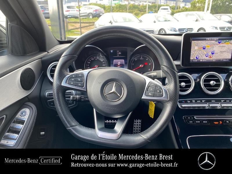Photo 7 de l'offre de MERCEDES-BENZ Classe C Break 180 d Sportline 7G-Tronic Plus à 27400€ chez Garage de l'Étoile - Mercedes-Benz Brest