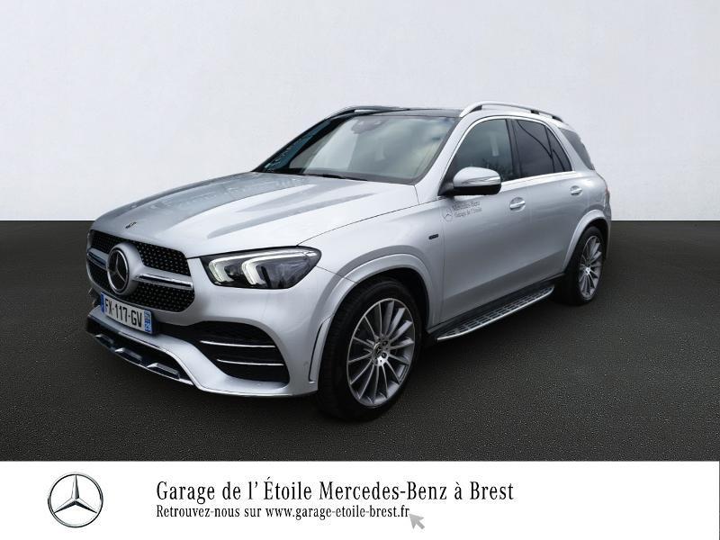Mercedes-Benz GLE 350 de 194+136ch AMG Line 4Matic 9G-Tronic Hybride Argent Iridium Occasion à vendre