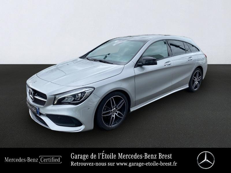 Mercedes-Benz CLA Shooting Brake 180 Fascination 7G-DCT Euro6d-T Essence Argent Polaire Occasion à vendre