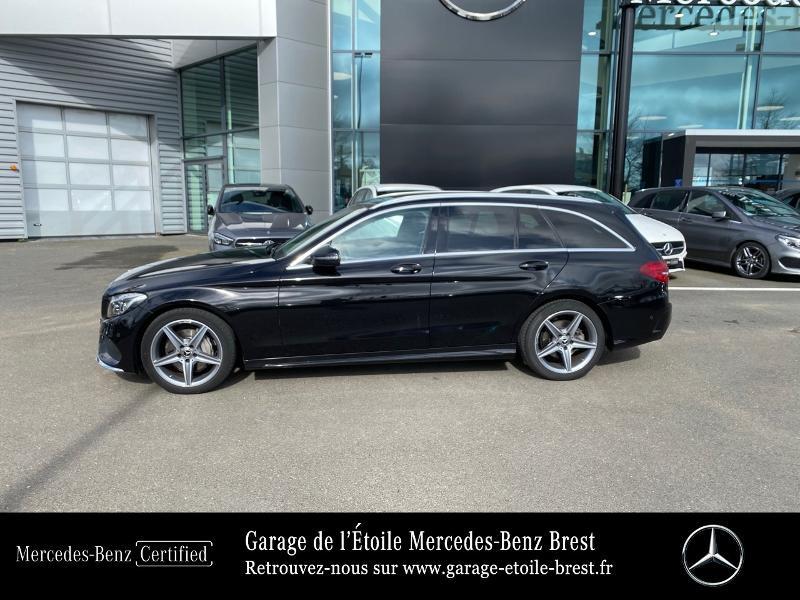 Photo 2 de l'offre de MERCEDES-BENZ Classe C Break 180 d Sportline 7G-Tronic Plus à 27400€ chez Garage de l'Étoile - Mercedes-Benz Brest
