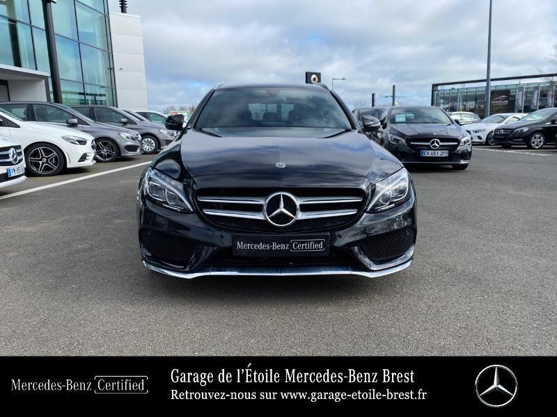 Photo 5 de l'offre de MERCEDES-BENZ Classe C Break 180 d Sportline 7G-Tronic Plus à 27400€ chez Garage de l'Étoile - Mercedes-Benz Brest