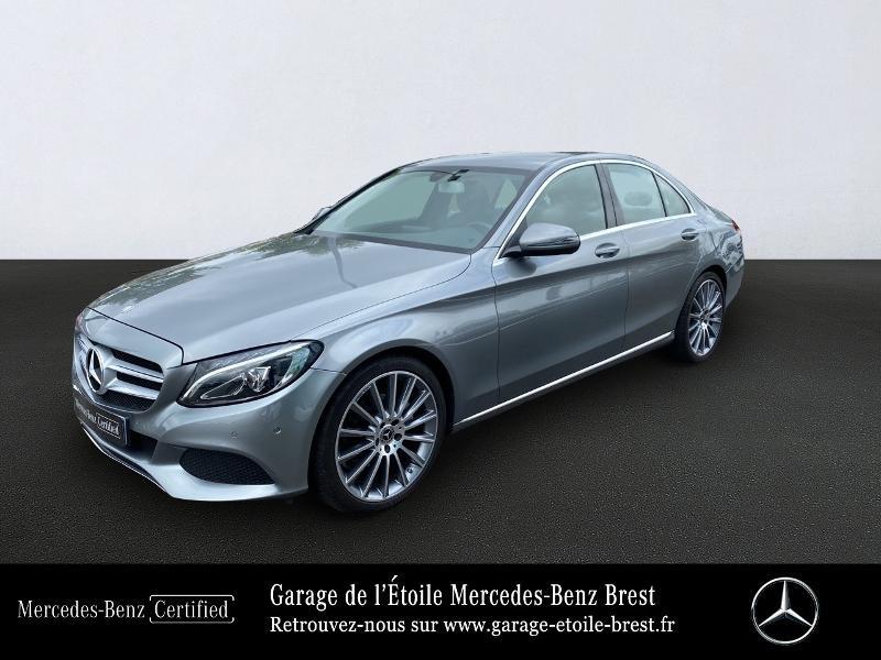 Mercedes-Benz Classe C 200 d 2.2 Executive 7G-Tronic Plus Diesel Argent Palladium Occasion à vendre