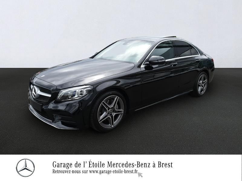 Mercedes-Benz Classe C 220 d 194ch AMG Line 9G-Tronic Diesel Noir Obsidienne Occasion à vendre
