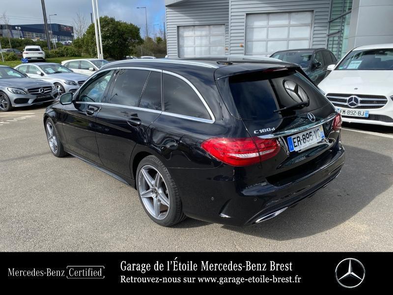 Photo 3 de l'offre de MERCEDES-BENZ Classe C Break 180 d Sportline 7G-Tronic Plus à 27400€ chez Garage de l'Étoile - Mercedes-Benz Brest