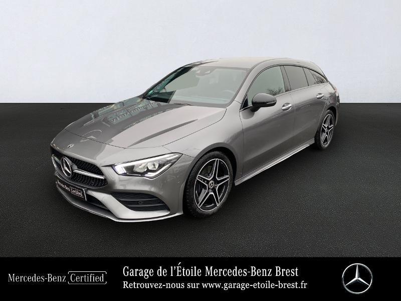Mercedes-Benz CLA Shooting Brake 200 d 150ch AMG Line 8G-DCT Diesel Gris Montagne Occasion à vendre