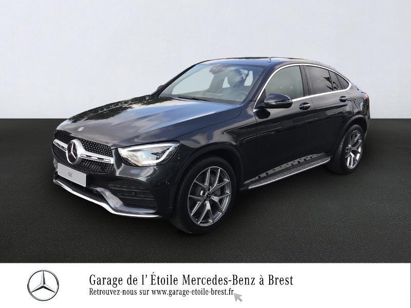 Mercedes-Benz GLC Coupe 300 258ch EQ Boost AMG Line 4Matic 9G-Tronic Euro6d-T-EVAP-ISC Essence Gris Foncé Métal Occasion à vendre