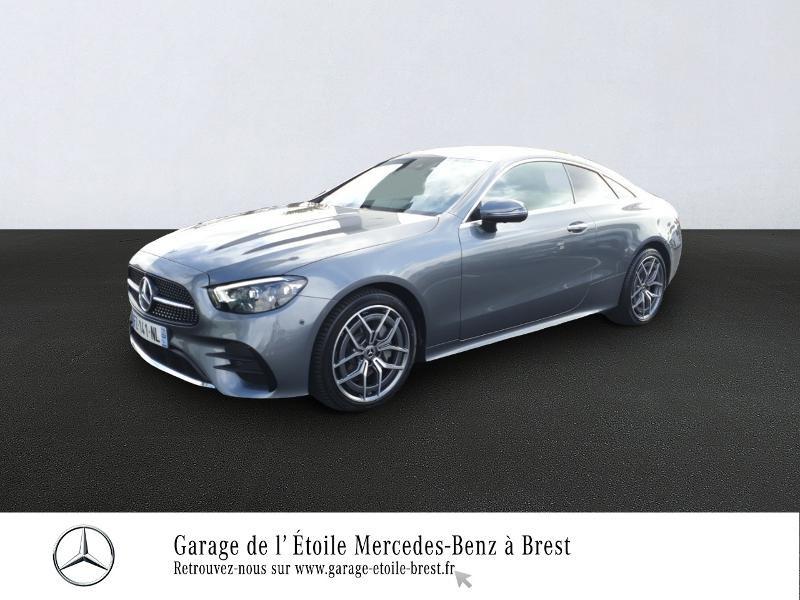 Mercedes-Benz Classe E Coupe 220 d 194ch AMG Line 9G-Tronic Diesel Gris Sélénite Occasion à vendre