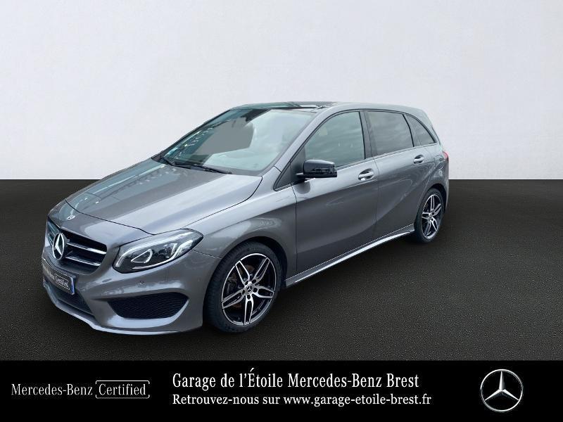 Mercedes-Benz Classe B 160 d 90ch Fascination 7G-DCT Diesel Gris Montagne Occasion à vendre