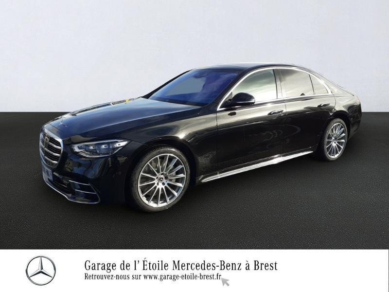 Mercedes-Benz Classe S 400 d 330ch AMG Line 4Matic 9G-Tronic Diesel Noir Obsidienne Occasion à vendre