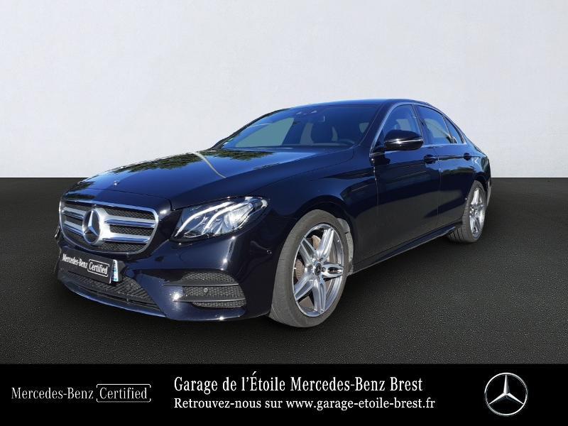 Mercedes-Benz Classe E 220 d 194ch Sportline 9G-Tronic Diesel Noir Obsidienne Occasion à vendre