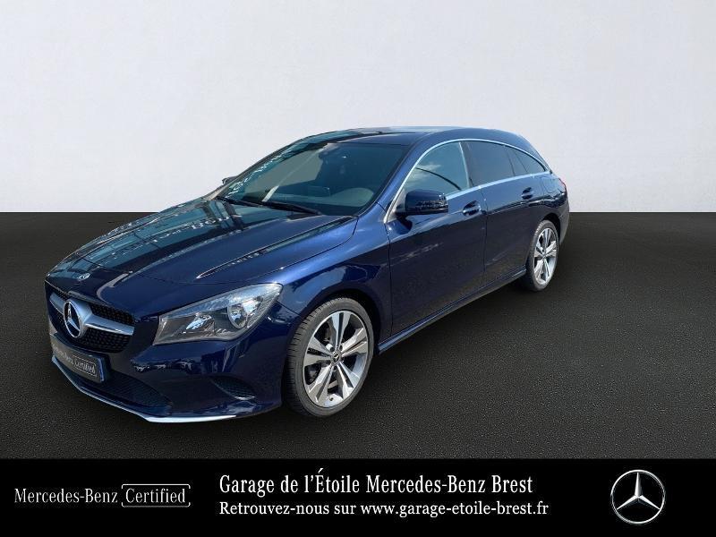 Mercedes-Benz CLA Shooting Brake 220 d Inspiration 7G-DCT Diesel Bleu Cavansite Occasion à vendre