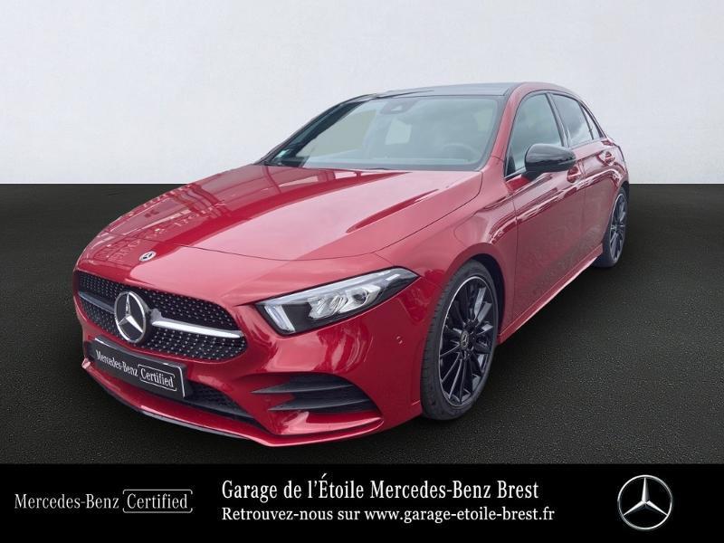 Mercedes-Benz Classe A 200 d 150ch AMG Line 8G-DCT Diesel Rouge Patagonie Occasion à vendre