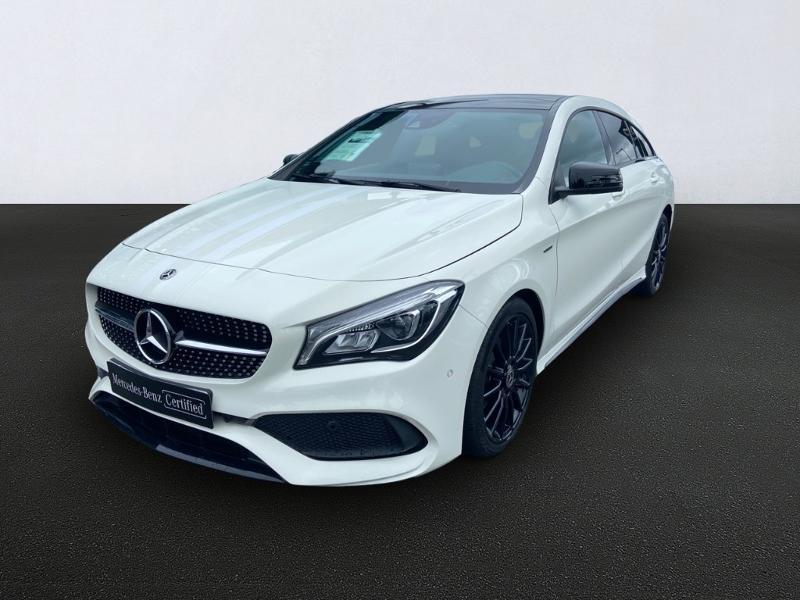 Mercedes-Benz CLA Shooting Brake 180 d WhiteArt Edition 7G-DCT Diesel Blanc Cirrus Occasion à vendre