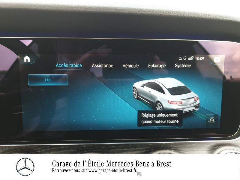 Photo 24 de l'offre de MERCEDES-BENZ Classe E Coupe 220 d 194ch AMG Line 9G-Tronic à 65990€ chez Garage de l'Étoile - Mercedes-Benz Brest