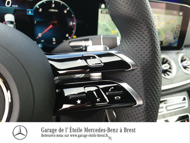 Photo 19 de l'offre de MERCEDES-BENZ Classe E Coupe 220 d 194ch AMG Line 9G-Tronic à 65990€ chez Garage de l'Étoile - Mercedes-Benz Brest