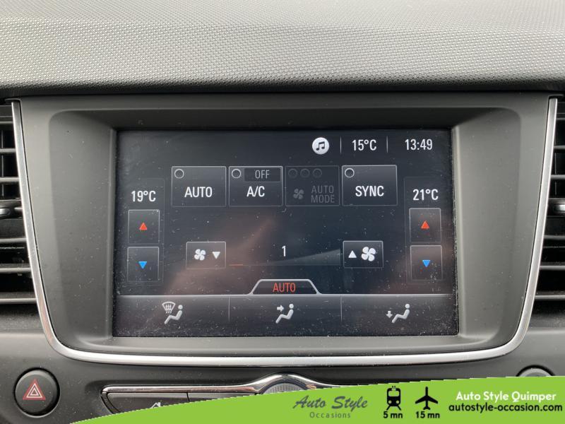 Photo 7 de l'offre de OPEL Crossland X 1.5 D 120ch Innovation BVA Euro 6d-T à 16490€ chez Auto Concept - Opel Quimper