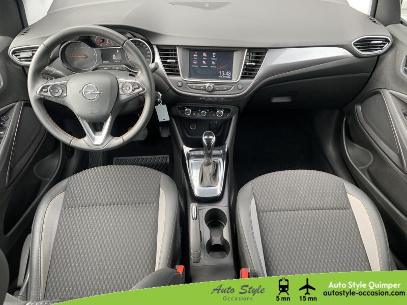 Photo 5 de l'offre de OPEL Crossland X 1.5 D 120ch Innovation BVA Euro 6d-T à 16490€ chez Auto Concept - Opel Quimper