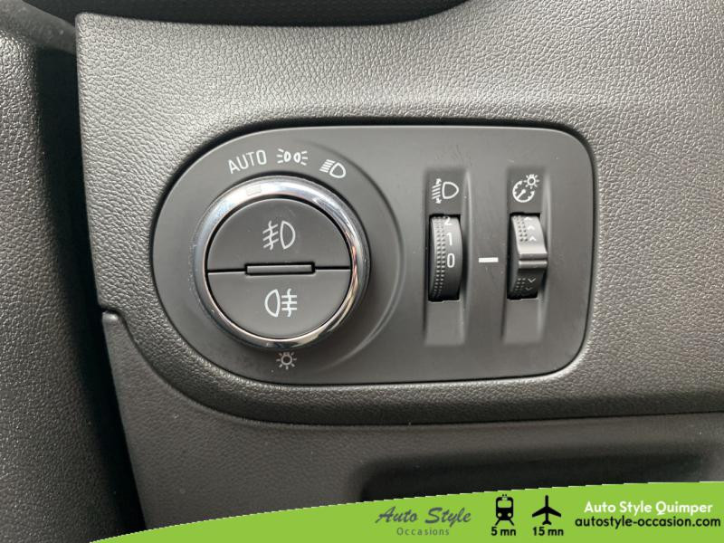 Photo 13 de l'offre de OPEL Crossland X 1.5 D 120ch Innovation BVA Euro 6d-T à 16490€ chez Auto Concept - Opel Quimper