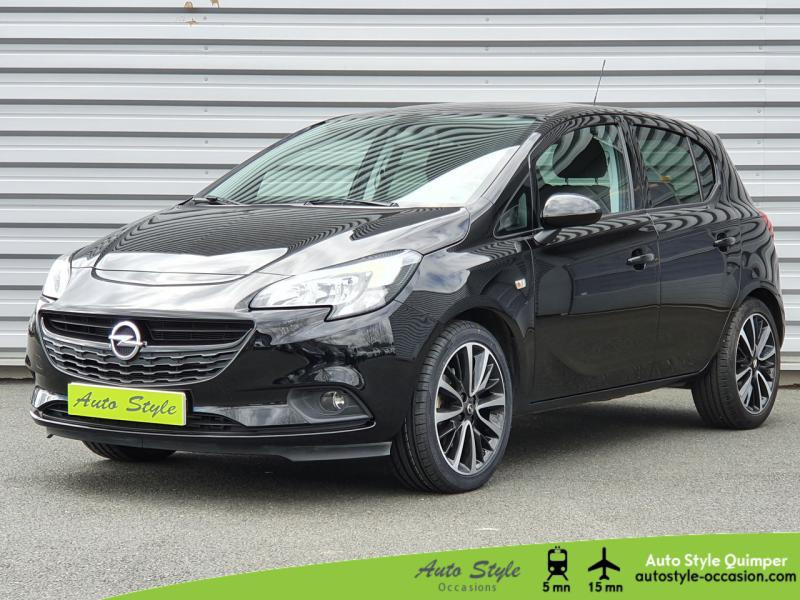 Opel Corsa 1.4 Turbo 100ch Black Edition Start/Stop 5p Essence Noir Profond Occasion à vendre
