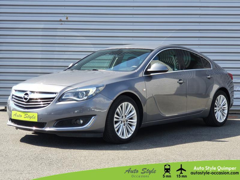 Opel Insignia 1.6 CDTI 136ch Cosmo ecoFLEX Start&Stop 5p Diesel Gris Etincelle Occasion à vendre