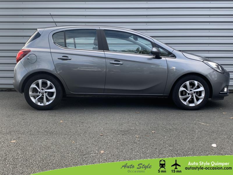 Photo 2 de l'offre de OPEL Corsa 1.4 Turbo 100ch Design 120 ans Start/Stop 5p à 10990€ chez Auto Concept - Opel Quimper