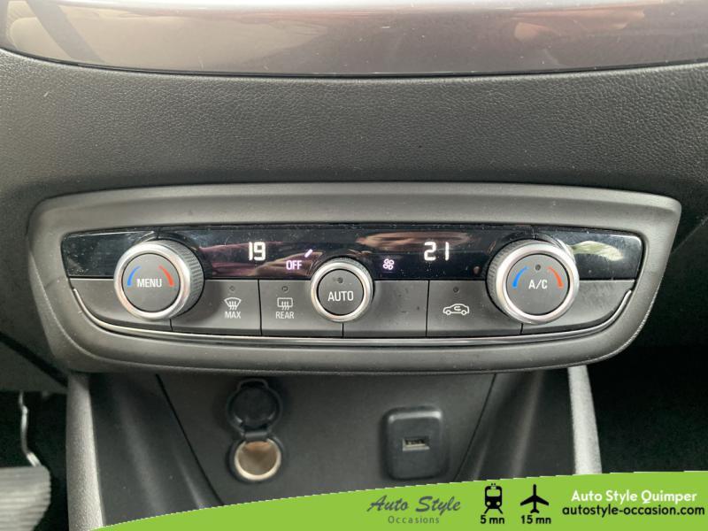 Photo 9 de l'offre de OPEL Crossland X 1.5 D 120ch Innovation BVA Euro 6d-T à 16490€ chez Auto Concept - Opel Quimper