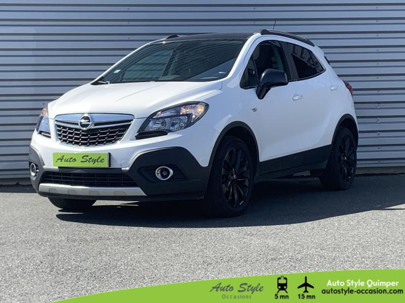Opel Mokka 1.6 CDTI 136ch Color Edition ecoFLEX Start&Stop 4x2 Diesel Blanc Glacier Occasion à vendre