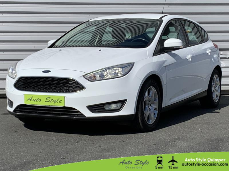 Ford Focus 1.0 EcoBoost 100ch Stop&Start Trend Essence Blanc Glacier Occasion à vendre