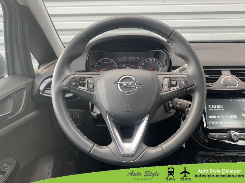 Photo 14 de l'offre de OPEL Corsa 1.4 Turbo 100ch Design 120 ans Start/Stop 5p à 10990€ chez Auto Concept - Opel Quimper
