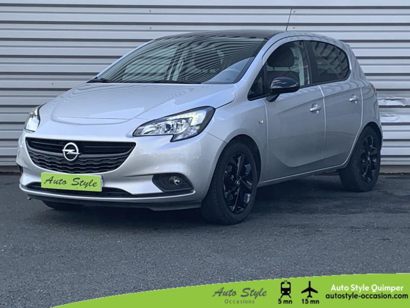 Opel Corsa 1.4 90ch Black Edition Start/Stop 5p Essence Gris Minéral Occasion à vendre