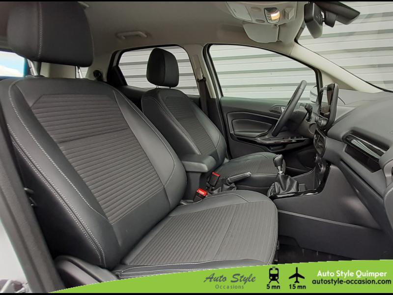 Photo 11 de l'offre de FORD EcoSport 1.0 EcoBoost 100ch Titanium Euro6.2 à 13490€ chez Auto Concept - Opel Quimper