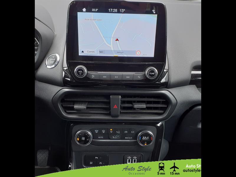 Photo 6 de l'offre de FORD EcoSport 1.0 EcoBoost 100ch Titanium Euro6.2 à 13490€ chez Auto Concept - Opel Quimper