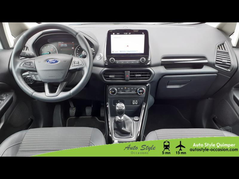 Photo 5 de l'offre de FORD EcoSport 1.0 EcoBoost 100ch Titanium Euro6.2 à 13490€ chez Auto Concept - Opel Quimper