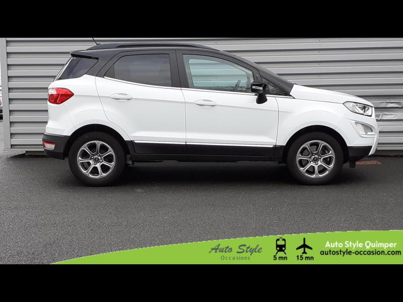 Photo 2 de l'offre de FORD EcoSport 1.0 EcoBoost 100ch Titanium Euro6.2 à 13490€ chez Auto Concept - Opel Quimper