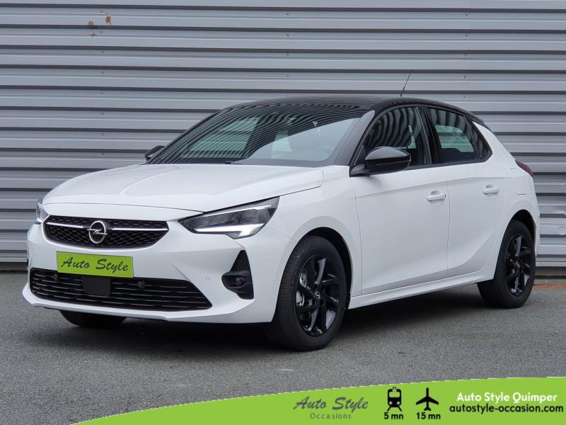 Opel Corsa 1.2 Turbo 100ch GS Line Essence Blanc Jade Occasion à vendre