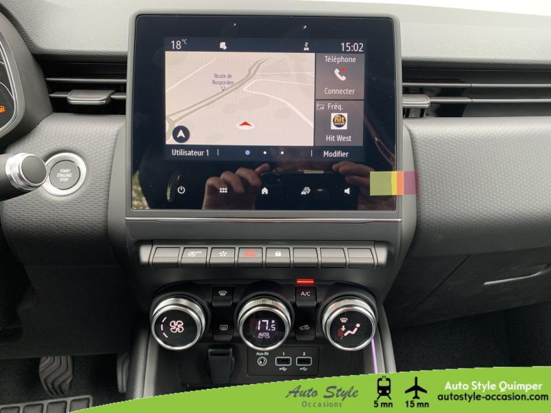 Photo 6 de l'offre de RENAULT Clio 1.0 TCe 90ch Intens -21 à 16490€ chez Auto Concept - Opel Quimper