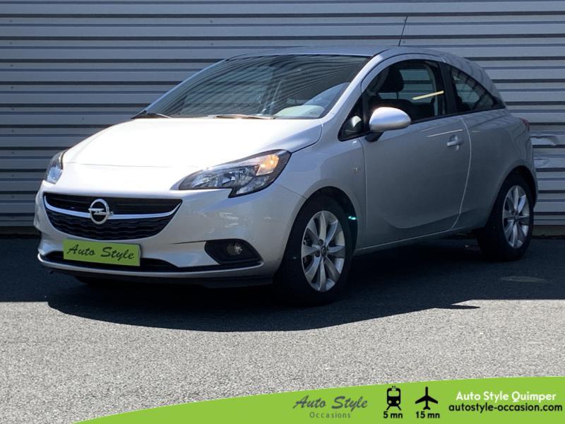 Opel Corsa 1.4 90ch Excite 3p Essence Gris Minéral Occasion à vendre