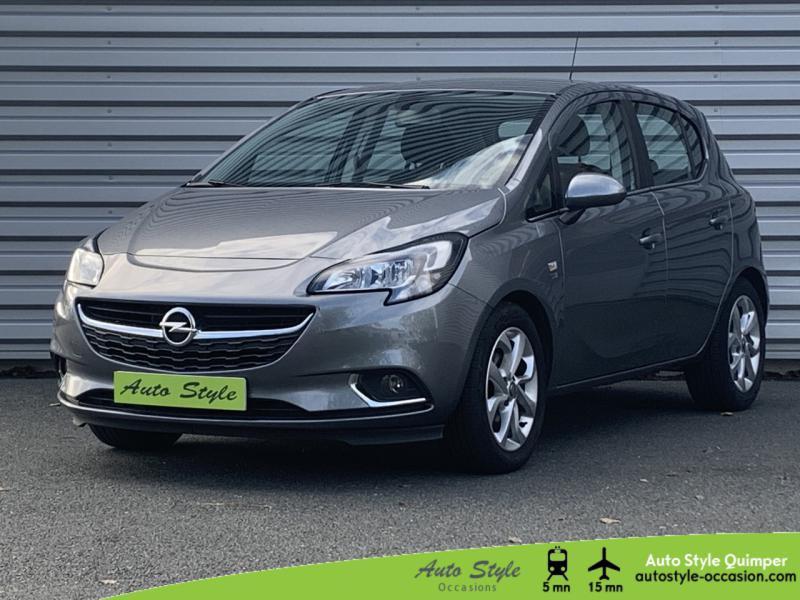 Opel Corsa 1.4 90ch Design 120 ans Start/Stop 5p Essence Gris Acier Satiné Occasion à vendre