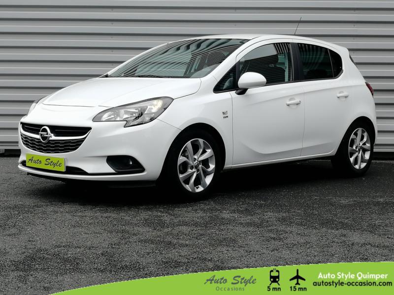 Opel Corsa 1.4 90ch Excite 5p Essence Blanc Glacier Occasion à vendre