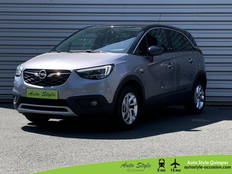 Opel Crossland X 1.2 Turbo 110ch Opel 2020 6cv Essence Gris Quartz/Toit Noir Diamant Occasion à vendre