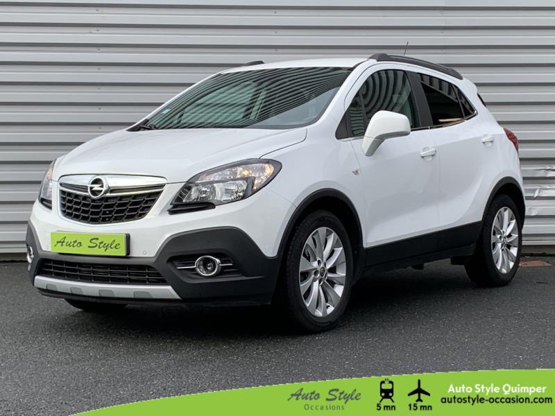 Opel Mokka 1.6 CDTI 136ch Cosmo ecoFLEX Start&Stop 4x2 Diesel Blanc Glacier Occasion à vendre
