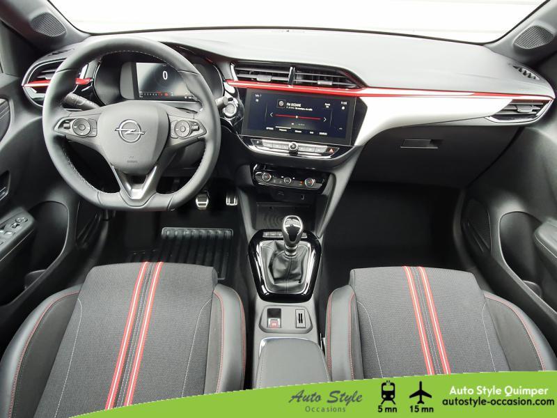 Photo 5 de l'offre de OPEL Corsa 1.2 Turbo 100ch GS Line à 18490€ chez Auto Concept - Opel Quimper