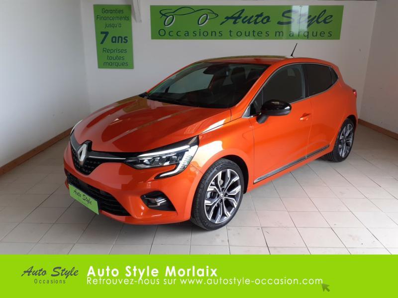 Renault Clio 1.0 TCe 100ch Intens - 20 Essence Orange Valencia Occasion à vendre