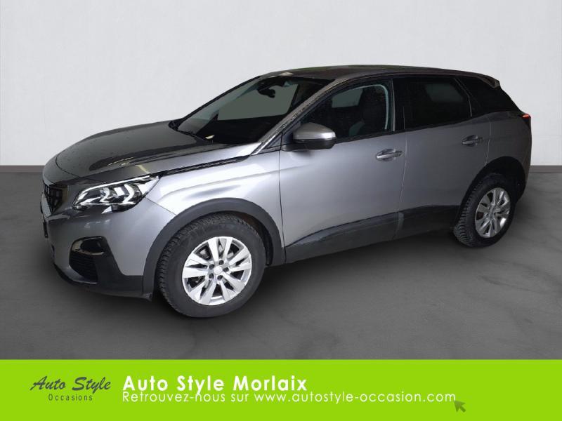 Peugeot 3008 1.6 BlueHDi 120ch Active Business S&S Basse Consommation Diesel Gris Artense (M) Occasion à vendre
