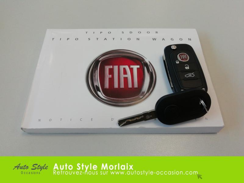 Photo 20 de l'offre de FIAT Tipo 1.4 95ch Easy MY19 5p à 11390€ chez Garage de la Gare - Opel Morlaix