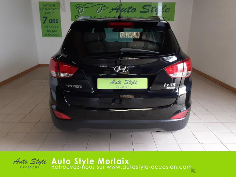 Photo 4 de l'offre de HYUNDAI ix35 1.7 CRDi Pack Premium Limited à 10980€ chez Garage de la Gare - Opel Morlaix