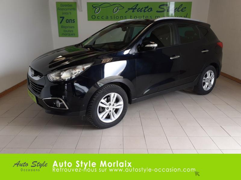 Photo 1 de l'offre de HYUNDAI ix35 1.7 CRDi Pack Premium Limited à 10980€ chez Garage de la Gare - Opel Morlaix